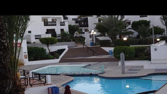 Jeden z basenów w hotelu Agador Caribbean Village