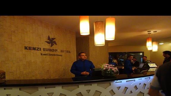 Recepcja w hotelu Kenzi Europa