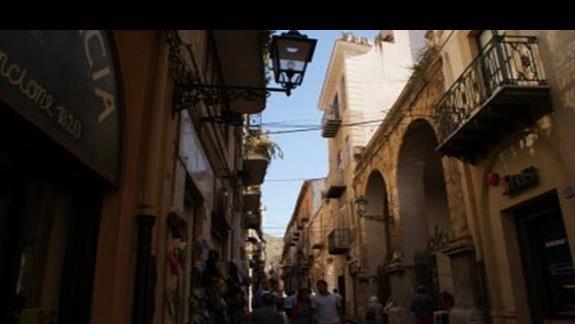 uliczka w Cefalu