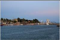 Side - widok na port i świątynie Apollina