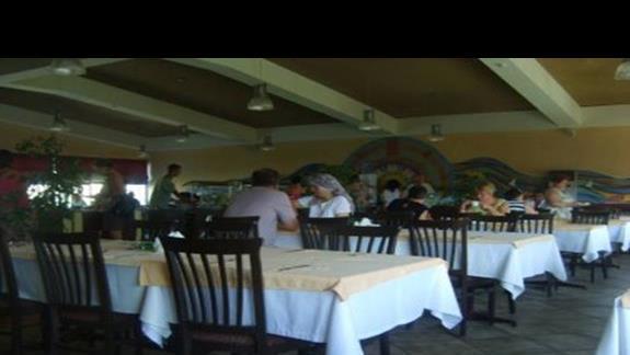 Hotelowa restauracja.