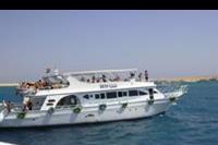 Hurghada - Statki kursujące na rafy