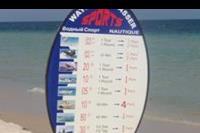 Hotel Sindbad - Ceny sportów wodnych na plazy
