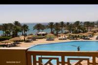 Hotel Sentido Palm Royale Soma Bay - widok z pokoju na basen i morze