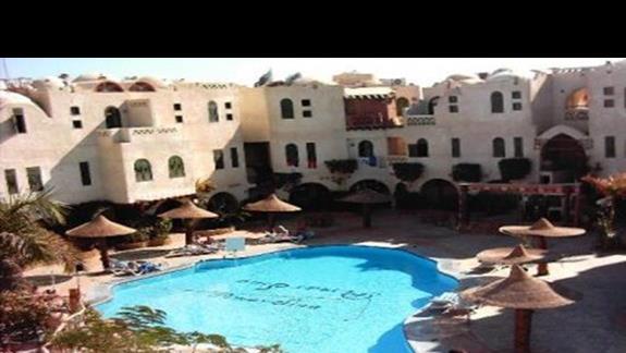 widok na hotel