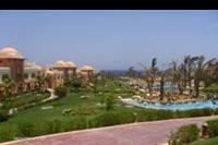 Hotel Serenity Makadi Beach - widok na hotel, ogród i baseny