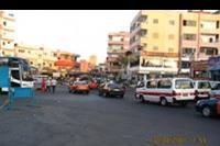 Hurghada - Ulica w centrum Hurghady