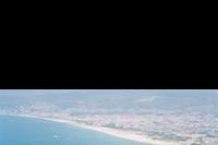 Alanya - Widok z Twierdzy na plaze Kleopatry