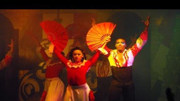 kolumbijscy tancerze