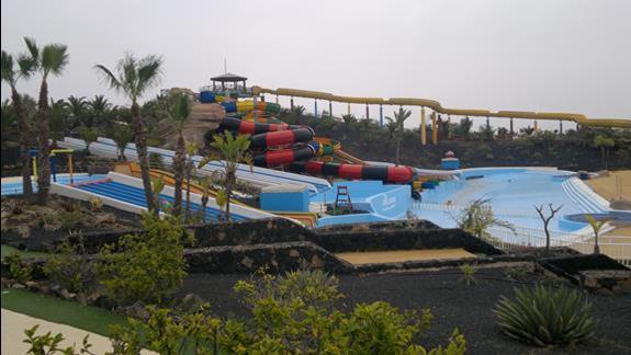 Widok na park wodny