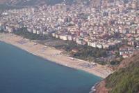 Alanya - widok na plaze