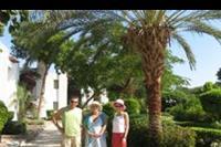 Safaga - Ogród w hotelu