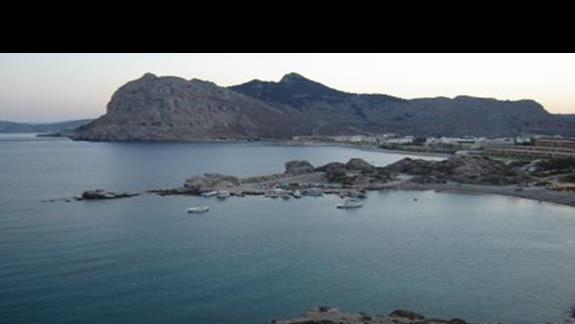 widok na zatoke Kolymbia