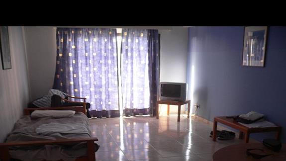 Apartament - pokój dzienny.