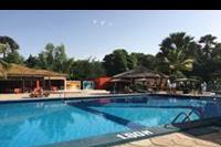 Hotel Holiday Beach Club - Teren basenu, gdzie odbywają się animacje