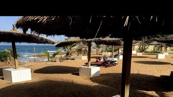 Miejsce, gdzie bez obawy o spotkanie z falą można zażywać kąpieli słonecznych