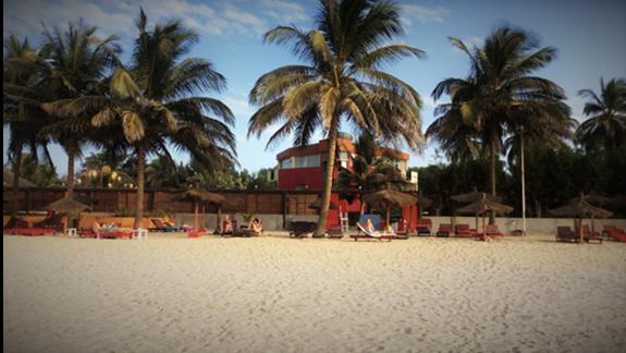 Piękna plaża przy hotelu