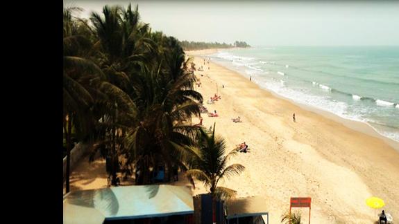 Ciągnąca się kilometrami plaża!