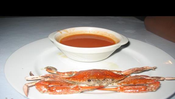 Krab na kolacje