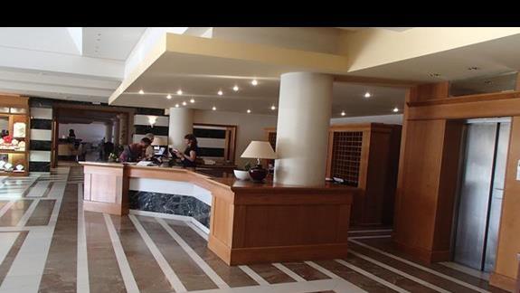Athina Palace recepcja