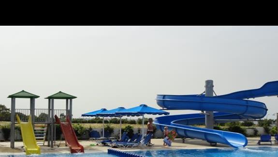 Mitsis Ramira Beach - zjeżdżalnie wodne