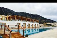 Hotel Mitsis Blue Domes Exclusive Resort & Spa - Teren basenowy w hotelu Mitsis Blue Domes Exclusive Resort & Spa