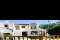 Hotel Mitsis Blue Domes Exclusive Resort & Spa - Taras w bungalowie w obiekcie Mitsis Blue Domes Exclusive Resort & Spa
