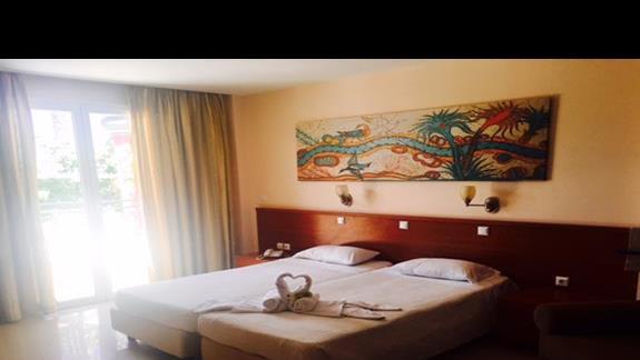 Pokój standardowy w hotelu Apollon