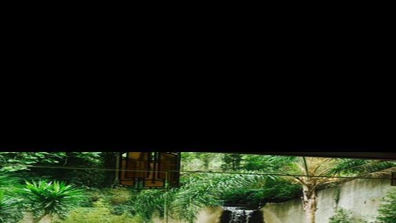 Lobby z wodospadem w hotelu Amathus Beach Rhodes