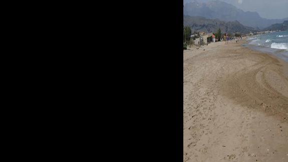 Kavros Beach plaża