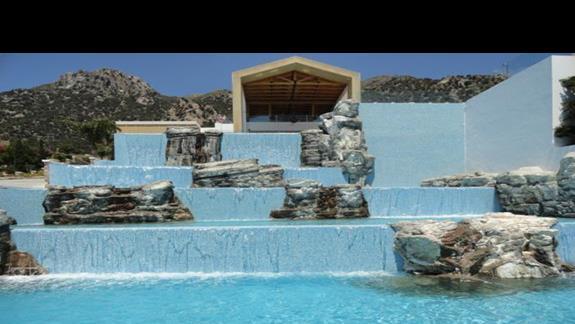 Mitsis Blue Domes - kaskady