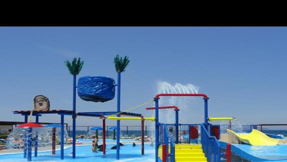 Labranda Marine Aquapark - brodzik z małymi zjeżdżalniami