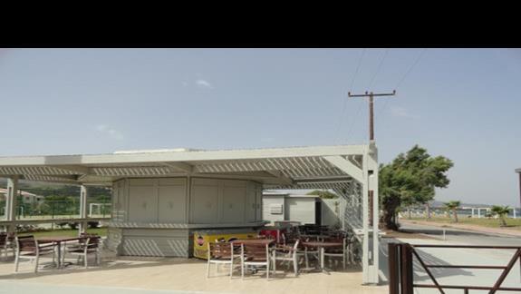 Kipriotis Village - bar przy plaży
