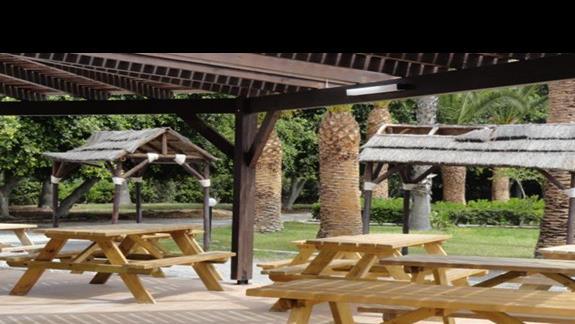 Kipriotis Village - teren wokół mini-klubu