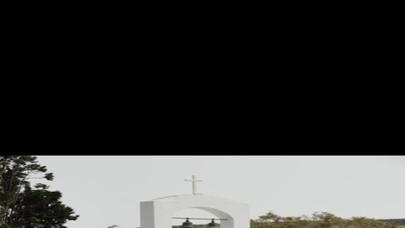 Kipriotis Village - kapliczka przy hotelu