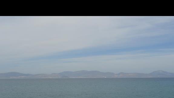 Ammos - widok z plaży
