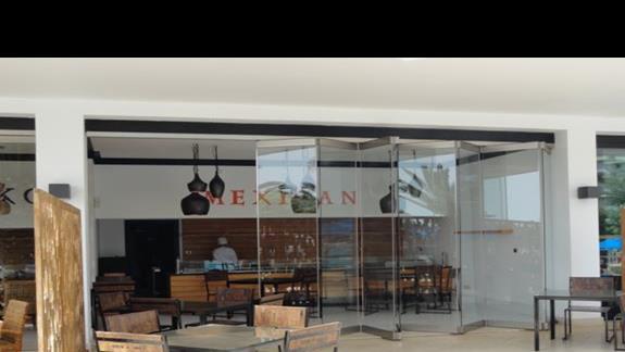 Mitsis Faliraki Beach - restauracja meksykańska