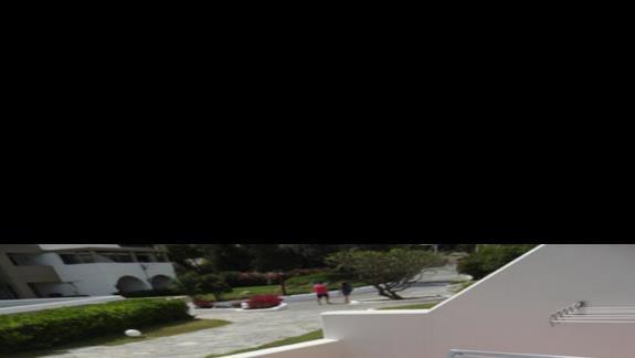 Porto Angeli -  balkon w pokoju