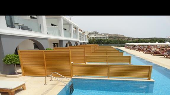 Mitsis Alila - pokój z prywatnym basenem