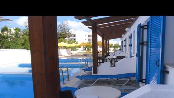 Mitsis RInela Beach Resort  widok pokój rodzinny