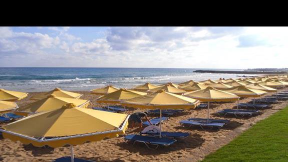 Mitsis RInela Beach Resort  plaża 1