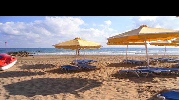 Mitsis RInela Beach Resort  plaża 2