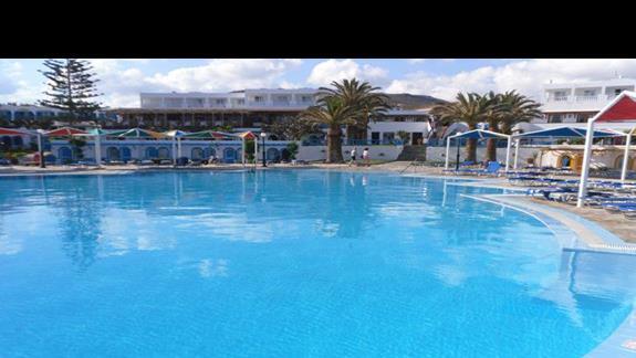 Mitsis RInela Beach Resort  Basen główny