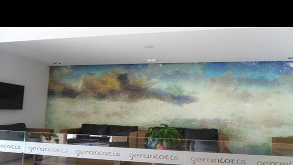Geraniotis Beach lobby