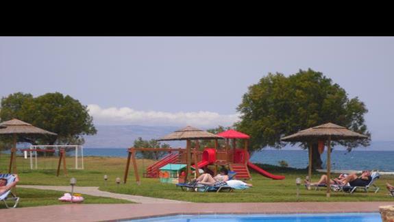 Geraniotis Beach placzabaw