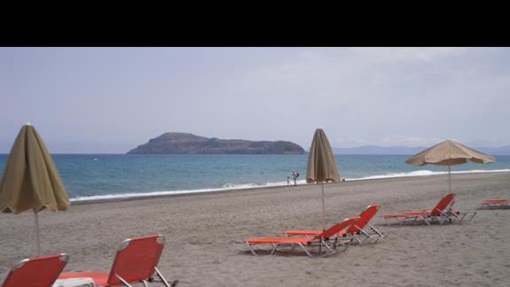 Geraniotis Beach plaża 1