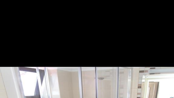 Geraniotis Beach łazienka pokój standard