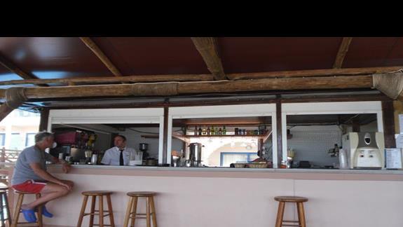 Galini Sea View bar na plazy