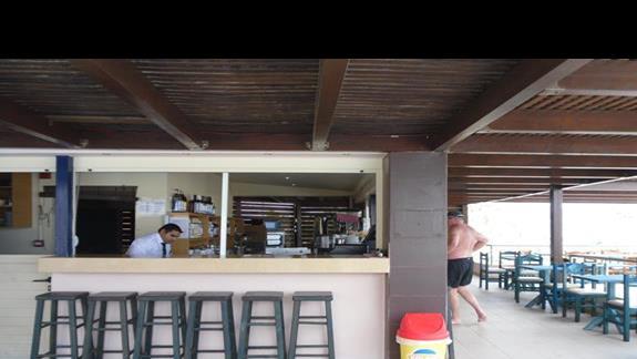 Galini Sea View bar przy basenie -góra