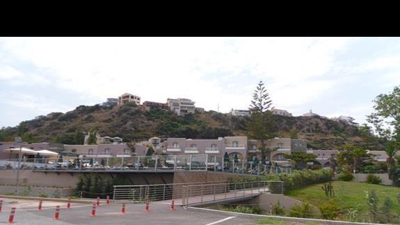 Platanias Village widok na hotel
